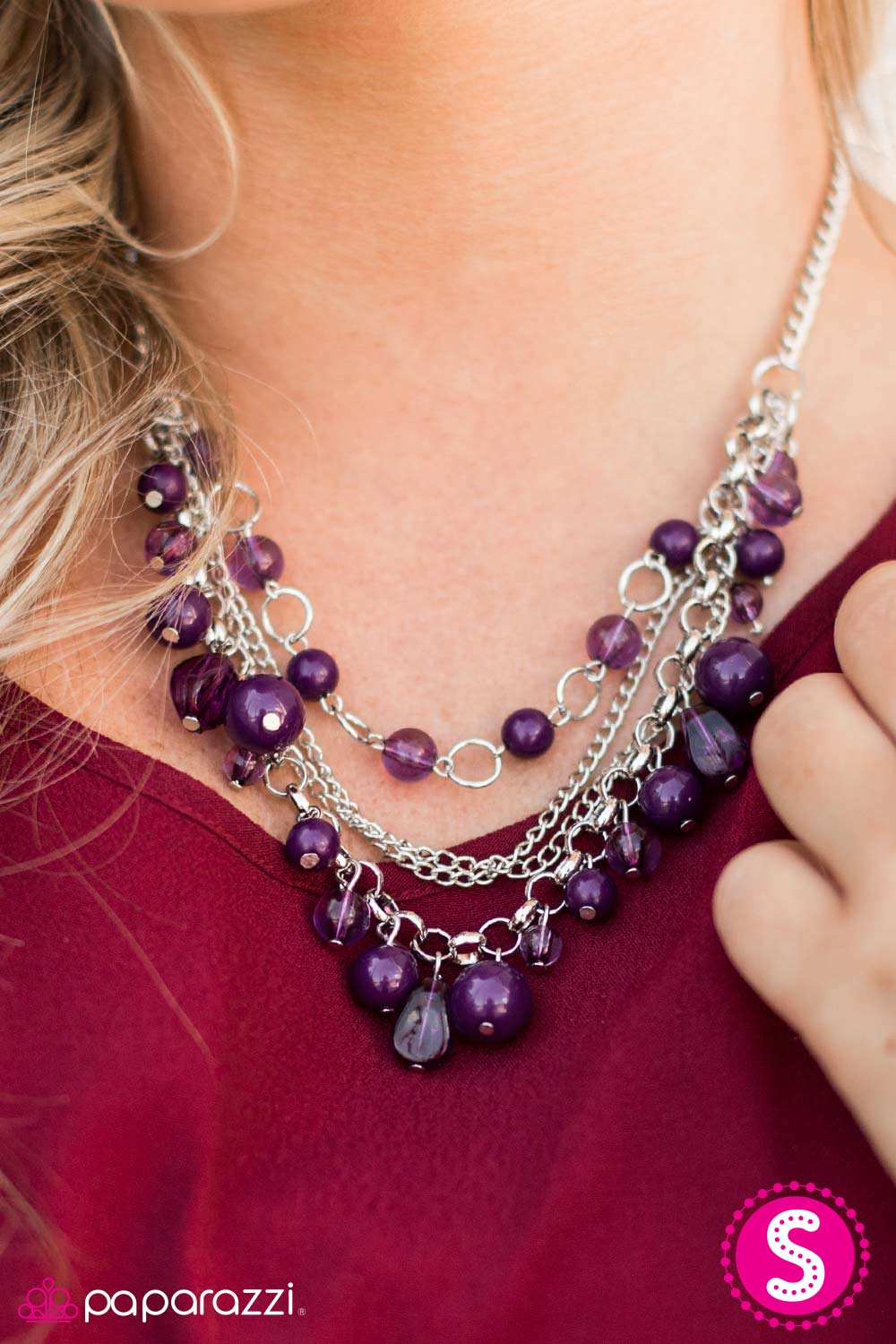 Pretty Promenade - Paparazzi necklace