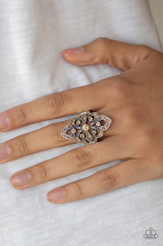 Princess Priss-brown-Paparazzi ring