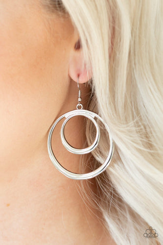 Put Your SOL Into It-silver-Paparazzi earrings