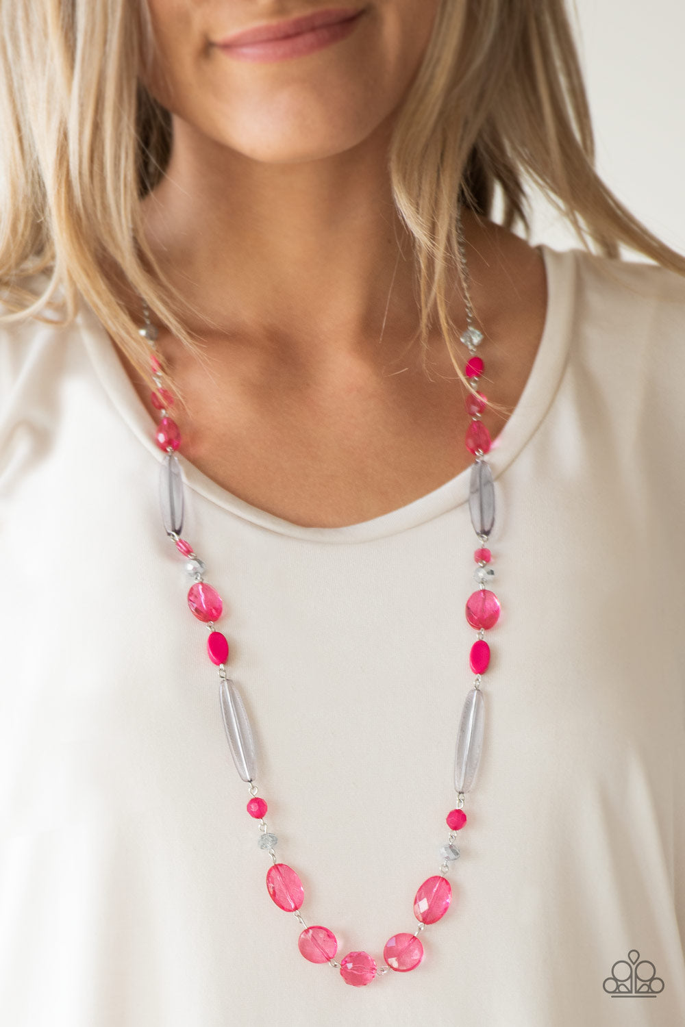 Quite Quintessence - pink - Paparazzi necklace