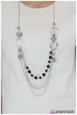 Ready for Romance - Black - Paparazzi necklace