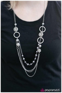 Ready for Romance - silver - Paparazzi necklace