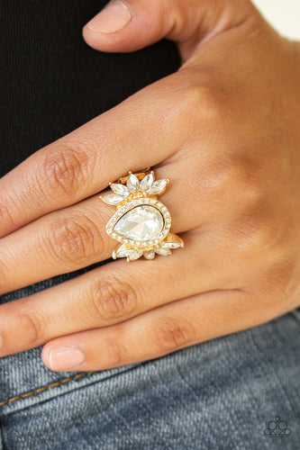 Really Regal-gold-Paparazzi ring