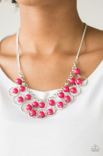 Really Rococo - pink - Paparazzi necklace