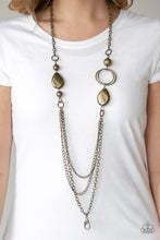 Load image into Gallery viewer, Rebels Have More Fun-brass-Paparazzi LANYARD necklace