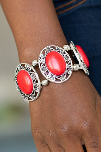 Rodeo Rancho - red - Paparazzi bracelet