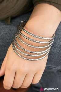Rough and Tough - Silver - Paparazzi bracelets