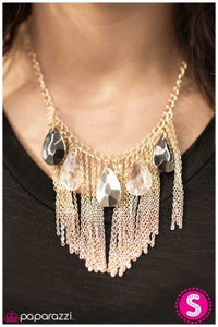 Royal Arrival - Gold - Paparazzi necklace