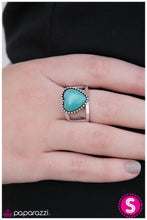 Load image into Gallery viewer, Rule With Your Heart - Blue - Paparazzi ring
