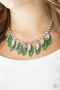 Rule the Roost - green - Paparazzi necklace