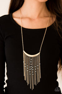 Runaway Rumba - gold - Paparazzi necklace