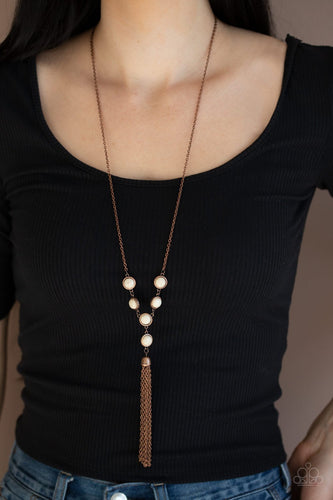 Rural Heiress-copper-Paparazzi necklace