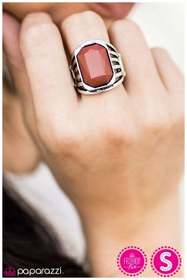 Scandalous Behavior - red- Paparazzi ring