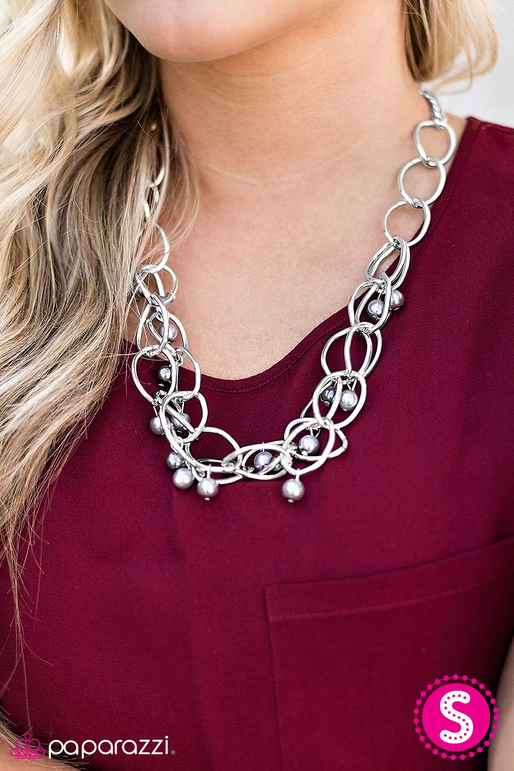 Season Premiere - Silver - Paparazzi necklace