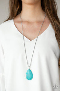 Sedona Sandstone-blue-Paparazzi necklace