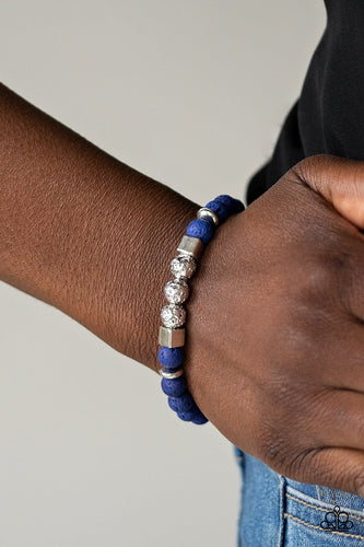 SENSEI and Sensibility-blue-Paparazzi bracelet