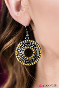 She Is A-MAZE-ing! - Paparazzi earrings