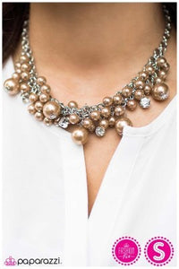 She Said Yes - Brown - Paparazzi necklace