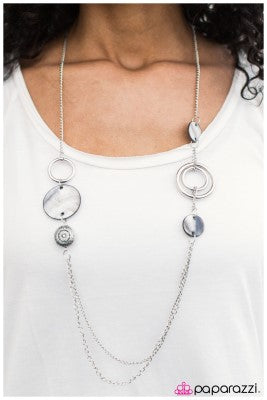 Sink or Swim - Silver - Paparazzi necklace