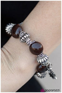 Smooth Move - Brown - Paparazzi bracelet