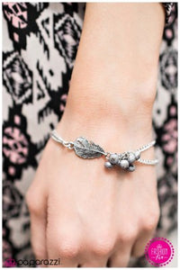 So Fly - silver - Paparazzi bracelet