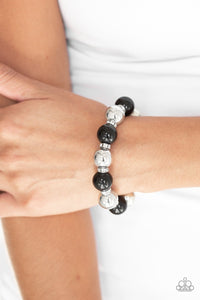 So Not Sorry - black - Paparazzi bracelet
