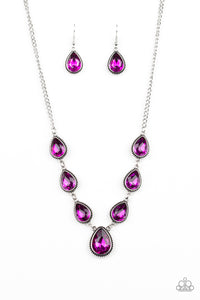 Socialite Social - pink - Paparazzi necklace