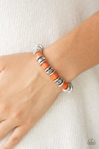 Sonoran Stonehenge-orange-Paparazzi bracelet
