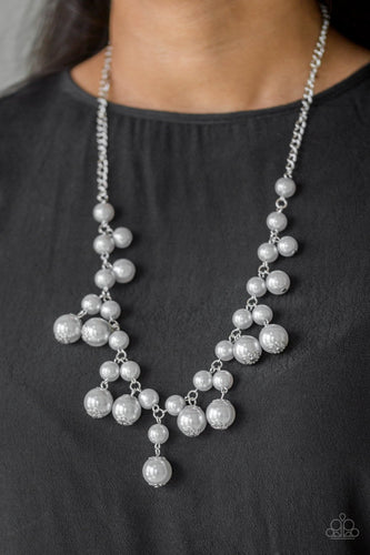 Soon to be Mrs - silver - Paparazzi necklace