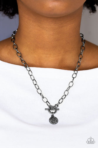 Sorority Sister - black - Paparazzi necklace