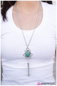 Southern Living - Blue - Paparazzi necklace