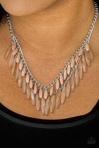 Speak of the Diva - brown - Paparazzi necklace