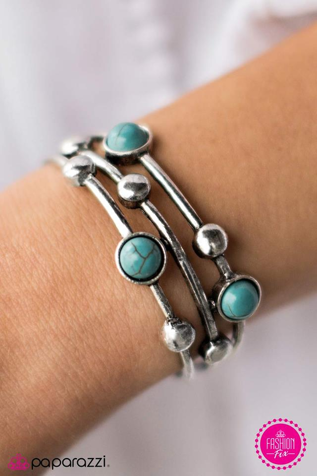 Spirit Quest - blue - Paparazzi bracelet