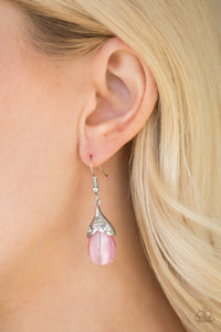 Spring Dew - pink - Paparazzi earrings