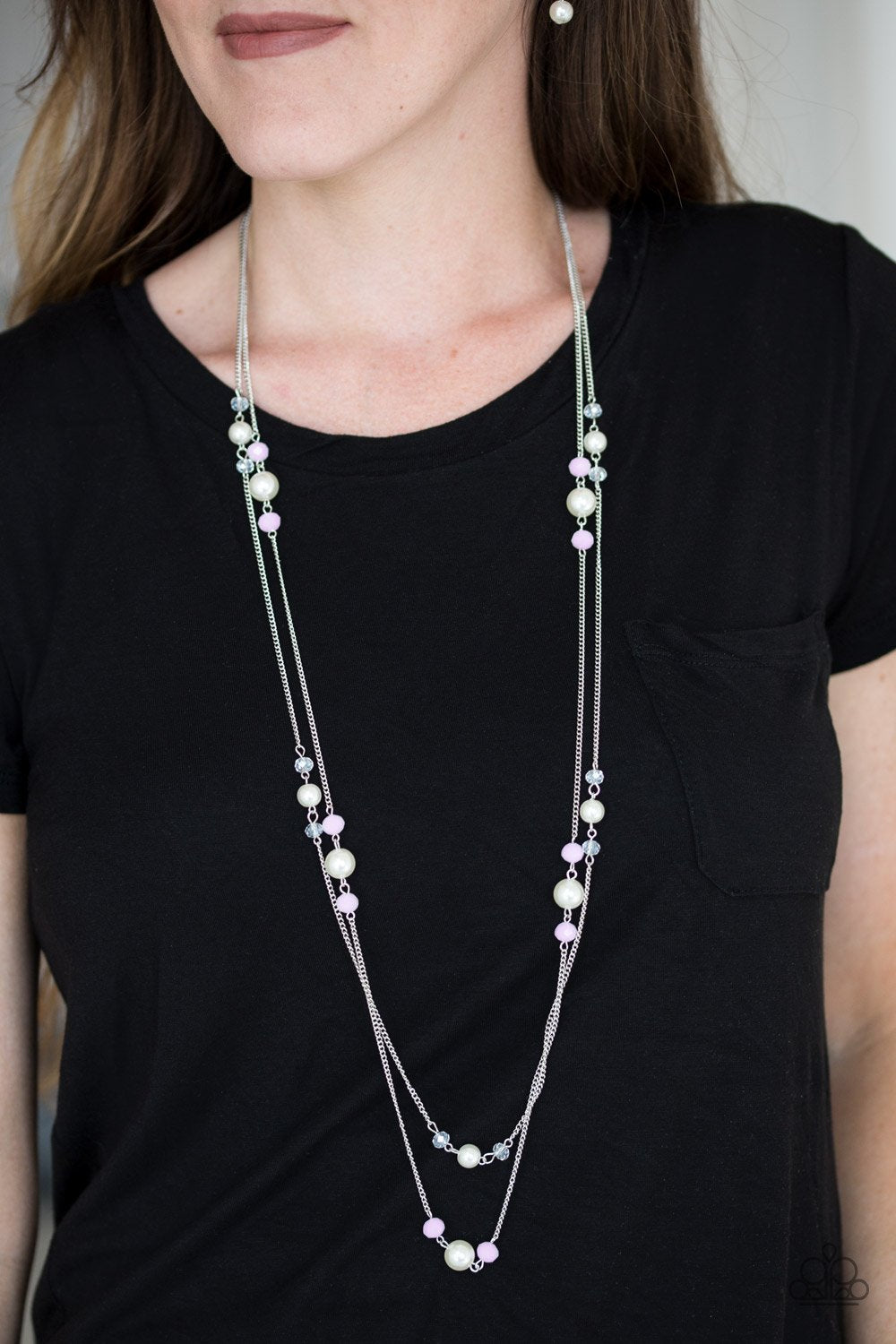 Spring Splash - pink - Paparazzi necklace