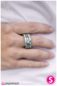 Stairway To Heaven - Blue - Paparazzi ring
