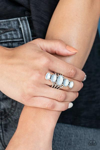 Stone Sublime - white - Paparazzi ring