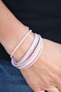 Stop, Drop, and Sparkle - Paparazzi bracelet