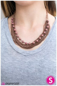 Stranded - Copper - Paparazzi necklace