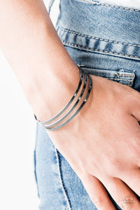Street Sleek - black - Paparazzi bracelet