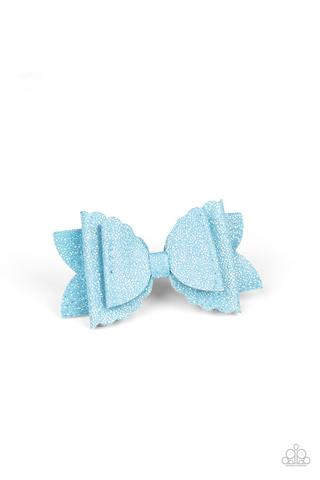 Sugar Rush - blue - Paparazzi hair clip