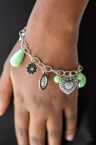 Summer Adventure - green - Paparazzi bracelet