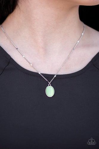 Summer Cool - green - Paparazzi necklace