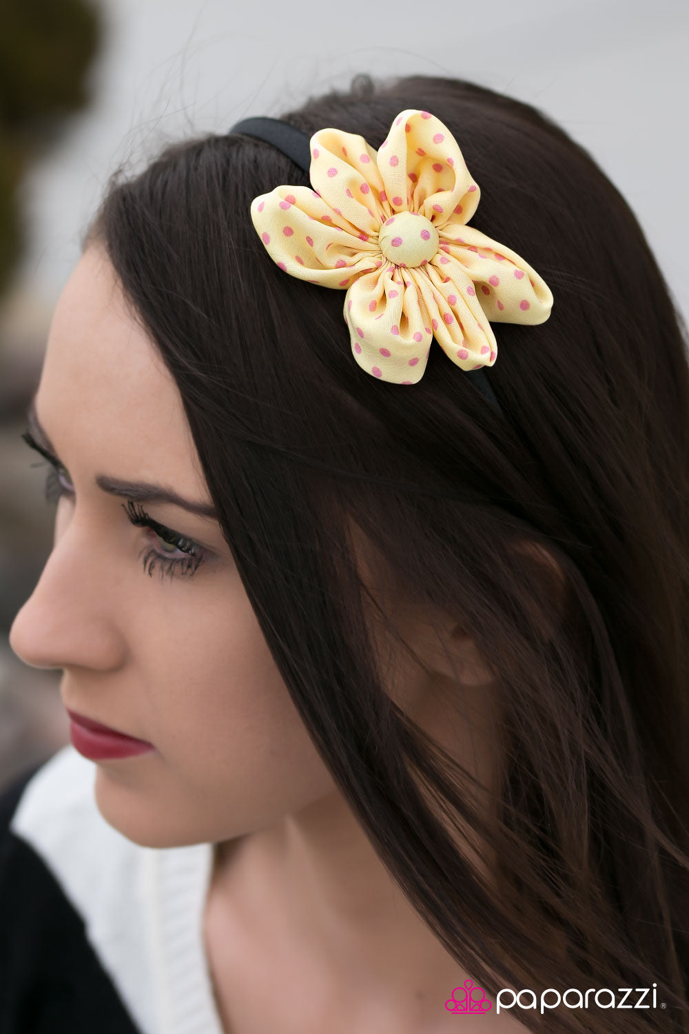 Sweet and Tart - Yellow - Paparazzi headband