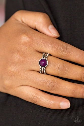 TREK and Field-purple-Paparazzi ring
