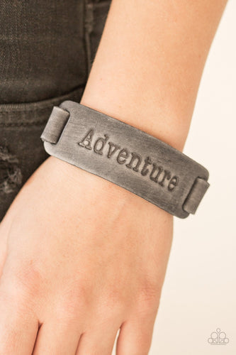 Take the Scenic Route - silver - Paparazzi bracelet