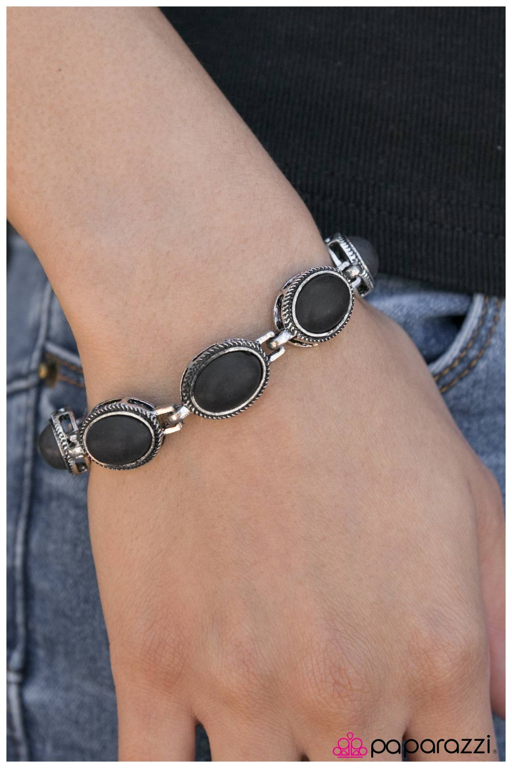 The Cowgirl Way - black - Paparazzi bracelet