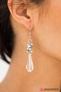 The Crystal Ball - Paparazzi earrings