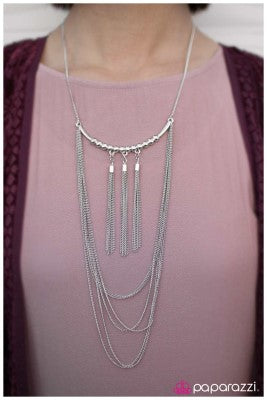 The Elitist - Silver - Paparazzi necklace