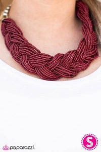 The Great Outback - red - Paparazzi necklace